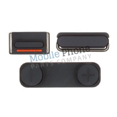Apple iPhone 5S External Button Set - Black
